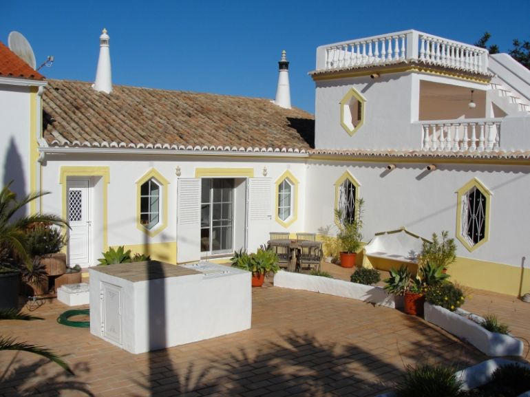 De cottage in de Algarve